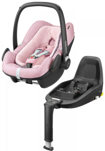 Maxi-Cosi Pebble Plus с базой isofix 2WayFix