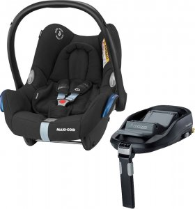 Maxi-Cosi CabrioFix с базой isofix FamilyFix (Frequency Black)