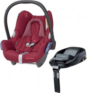 Maxi-Cosi CabrioFix с базой isofix FamilyFix (Essential Red)